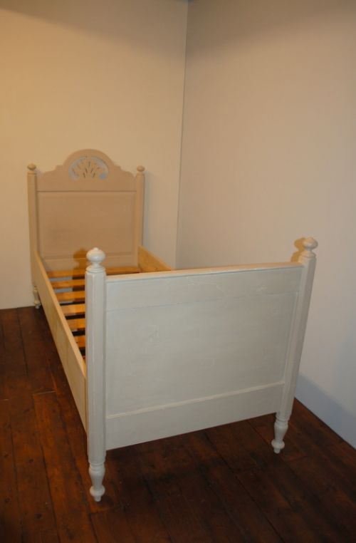 pair of antique pine beds twin beds 1880