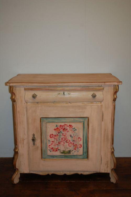 antique pine louis philippe cabinet storage cupboard 1870