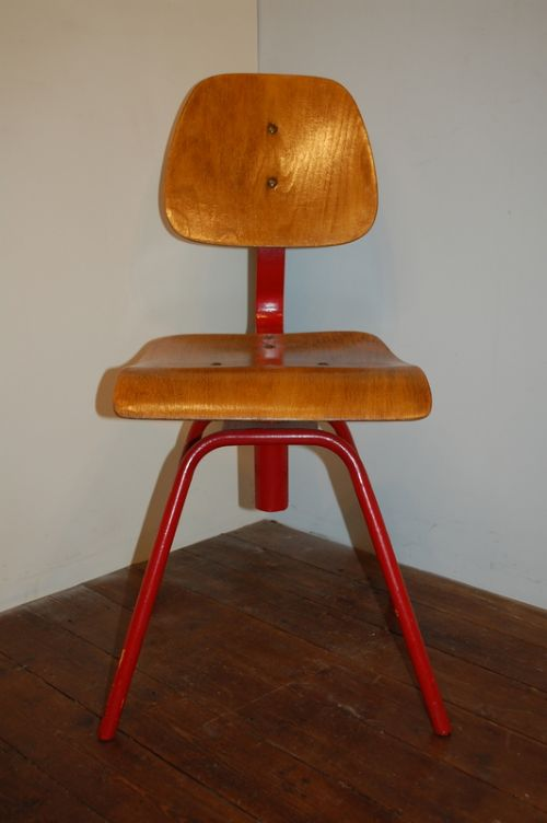 antique vintage machinist swivel chair in untouched condition