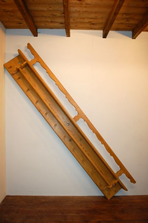antique rustic wall herb rack wall shelf with pegs 1840