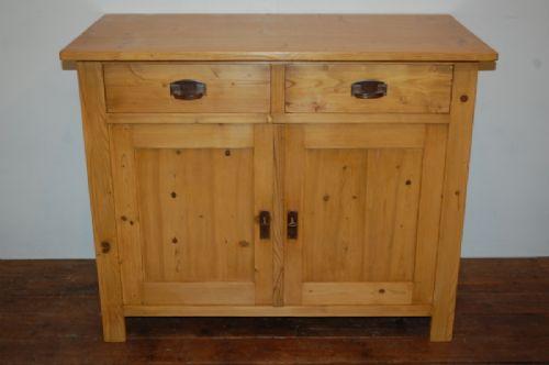 antique pine kitchen dresser base 1920