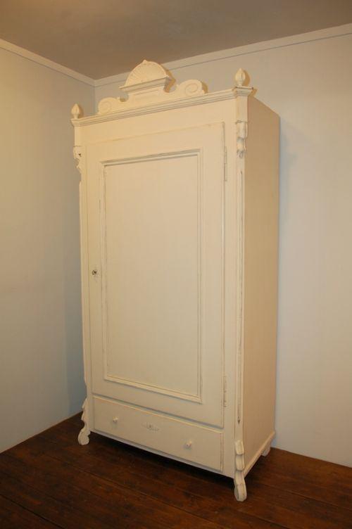 antique pine louis philippe linen storage cabinet 1870