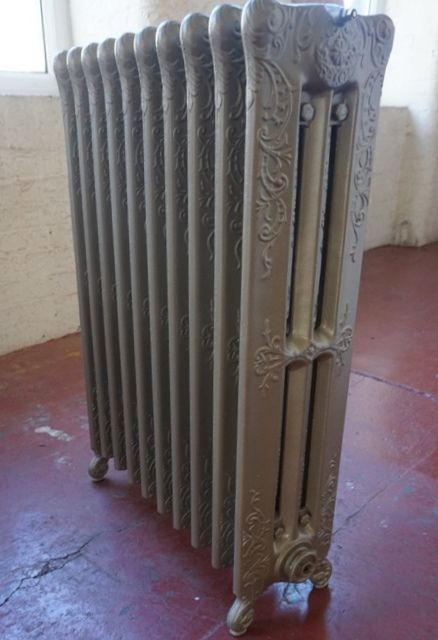 antique original american cast iron radiator 1910