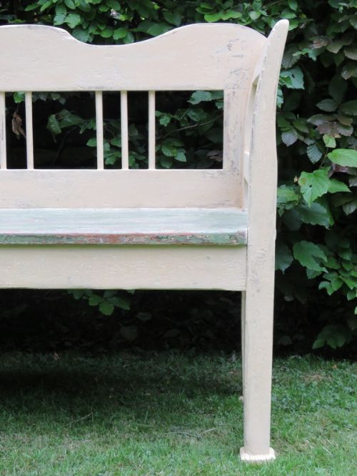 Antique Benches And Settles At Cottage Antiques Stock