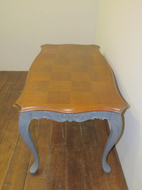 Item Saved. The ANTIQUE FRENCH PARQUET TOP COFFEE TABLE ...