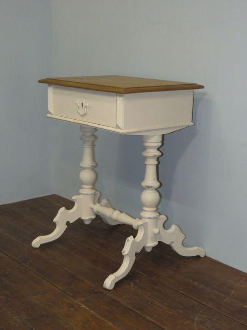 antique swedish pine twin pedestal writing table 1870