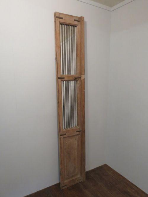 antique teak frame door with mirror garden mirror