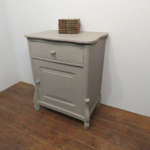 antique french louis philippe small side cabinet 1870