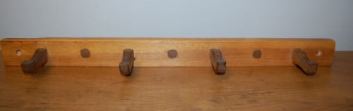 antique pine and oak peg board shaker style 1880