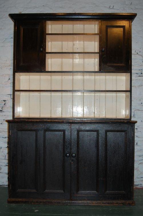 victorian pine dresserhousemaids cupboard