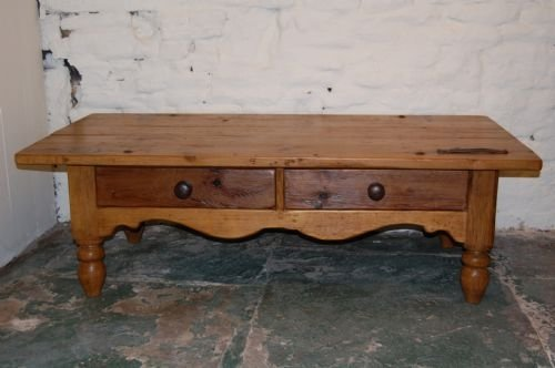 Victorian Yorkshire Pine Harvest Table Sofatable
