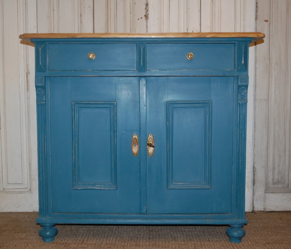 antique pine storage cupboard dresser base