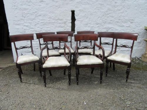 set of eight victorian dining chairs reduce by 30