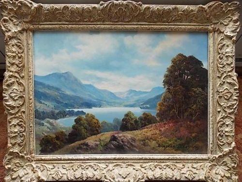 douglas falconer oil painting 19132004 scottish