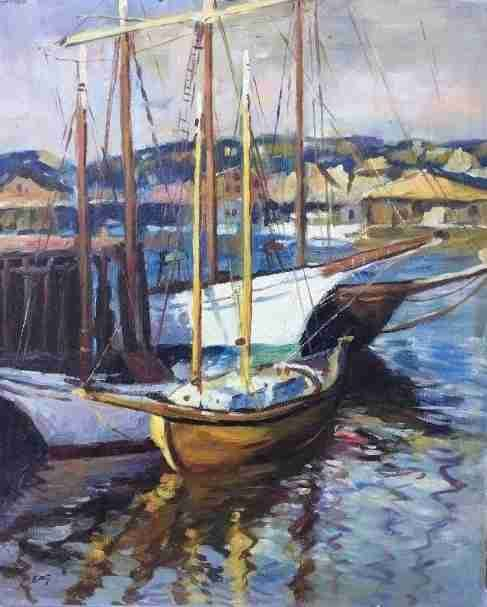 emile a gruppe american impressionist 18961978 oil painting