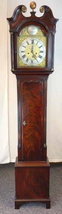 18th century edinburgh longcase clock leith rob alexander