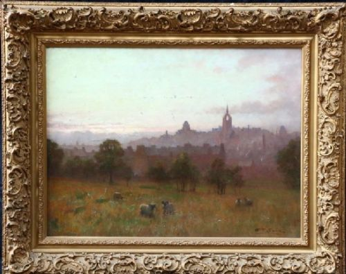 william barr 18671933 oil painting scottish