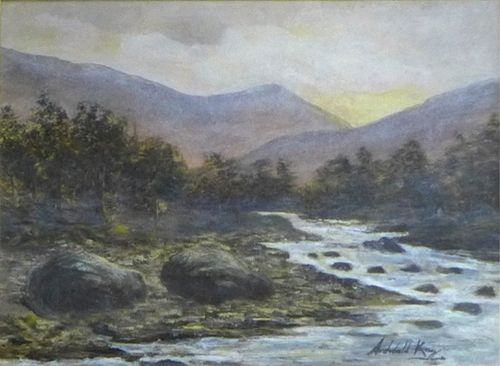 archibald kay rsa rsw scottish 18601935 oil painting