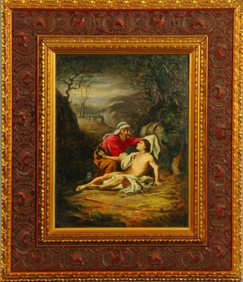 the good samaritan oil painting