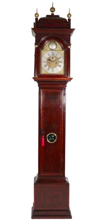 a fine early georgian burr walnut longcase clock by george tyler london ca 1720