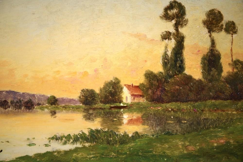 henri jaques delpy oil painting 18771957