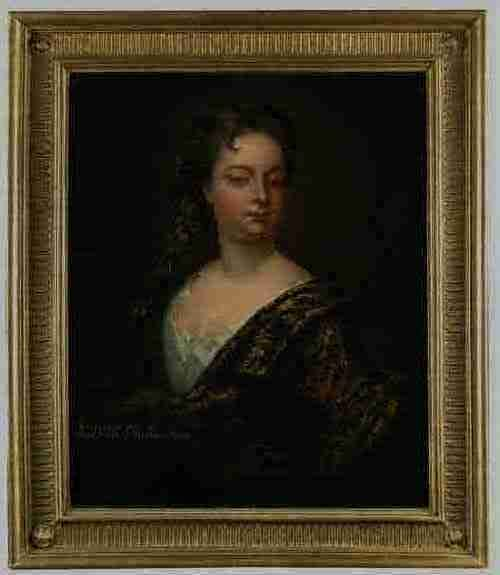 circle of sir godfrey kneller portrait of katharine wife of thomas 6th earl of westmorland