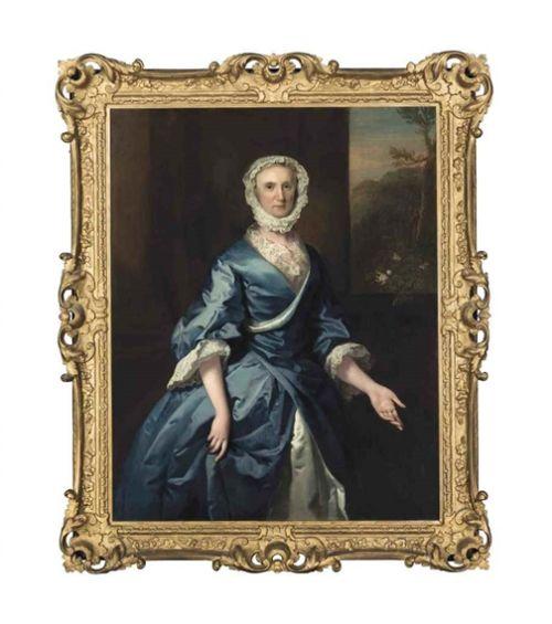 joseph highmore portrait of a lady grace loftus oil