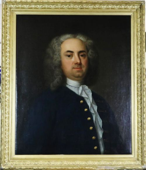 portrait of a gentleman edmund hoyle circle of james latham