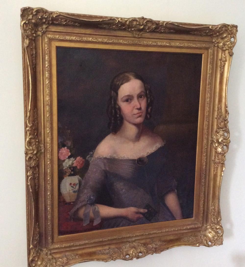 portrait of a lady 19th century circle margaret carpenter