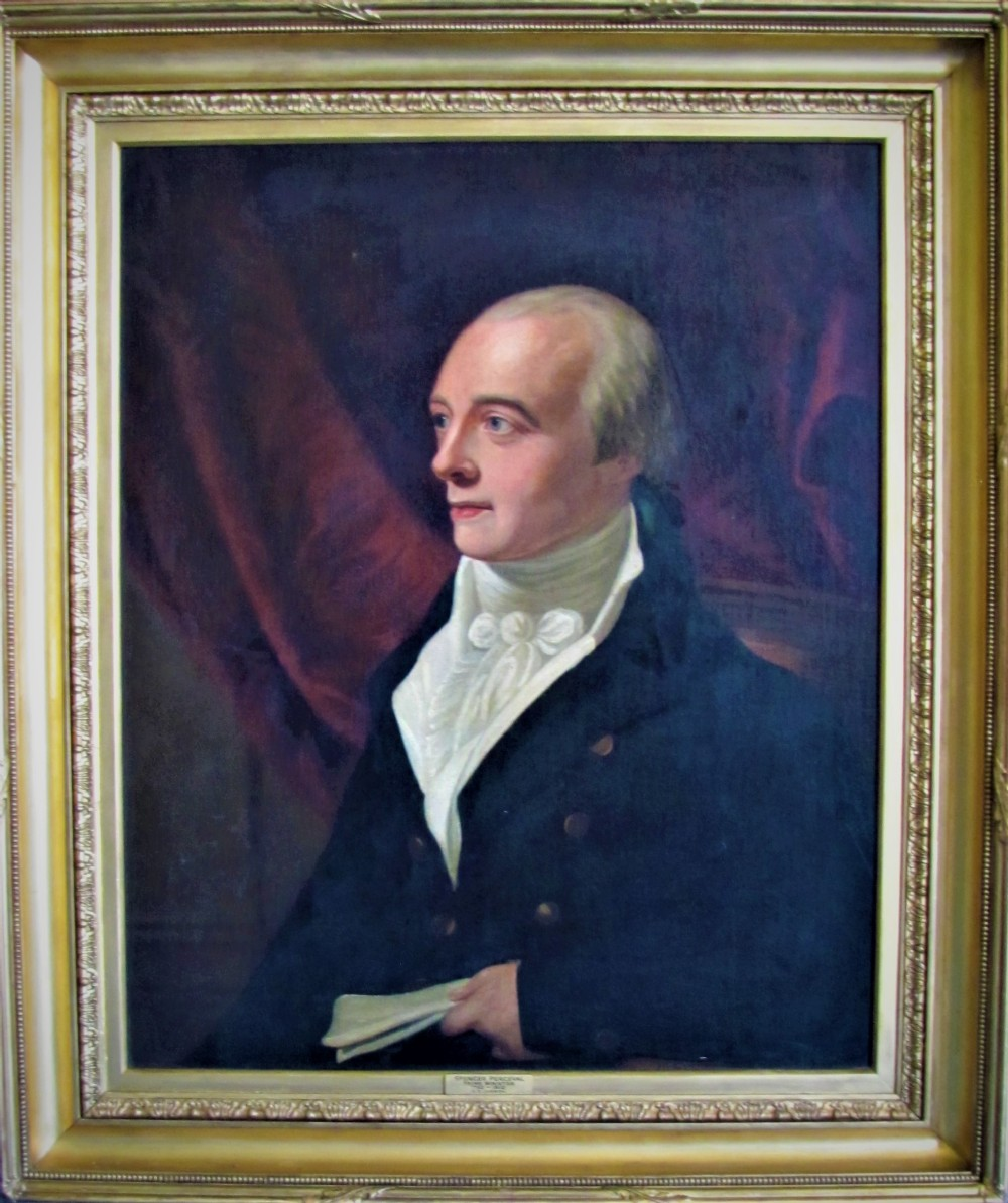 19th century portrait of prime minister spencer perceval attributed to george francis joseph