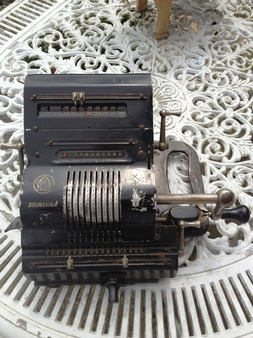 brunsviga adding machine