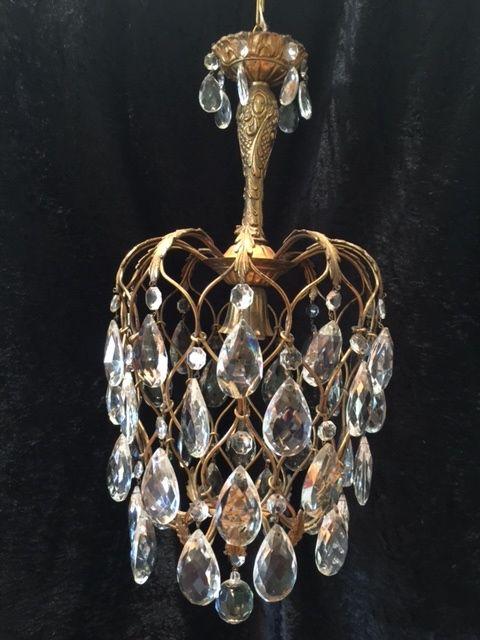 italian antique pineapple chandelier