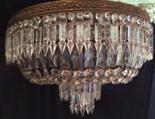 italian antique plafoniere ceiling chandeliers - Italian Antique Plafoniere Ceiling Chandeliers 445077