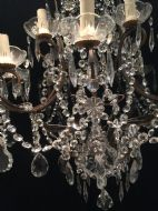 Two Tiered French Antique Chandelier 387524