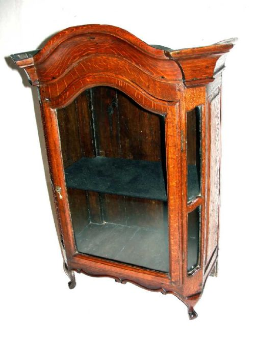 french 18th century oak table cabinet circa 1770