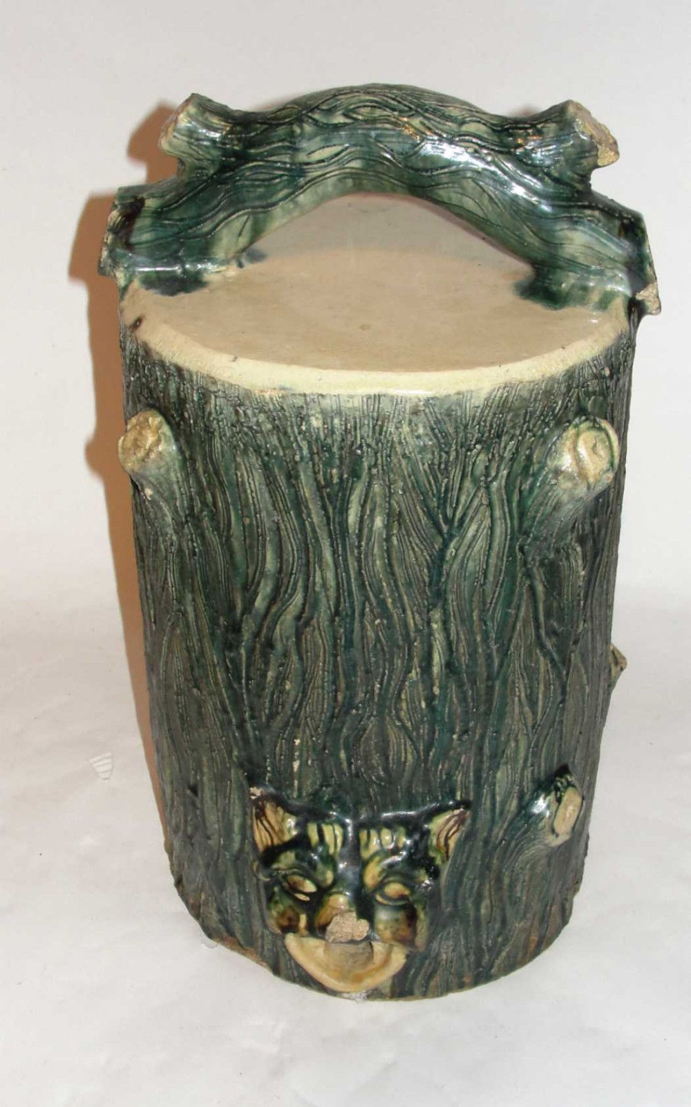 victorian scottish stoneware garden barrel
