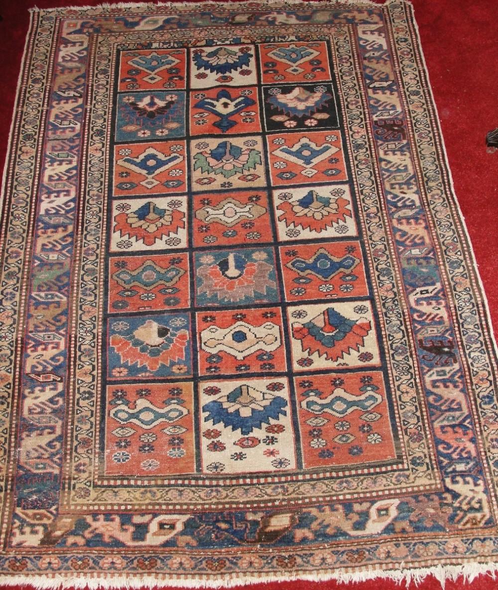 Antique Oriental Rugs Uk: Antique Persian Bactiari Rug. Circa 1900