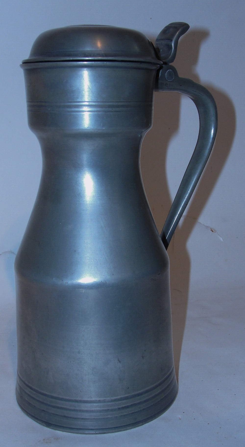 scottish georgian pewter 'tappit hen' circa 1820