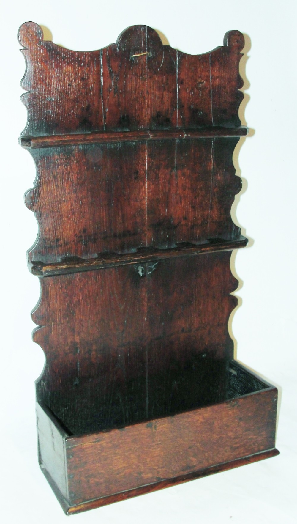 georgian oak spoon rack circa 1760