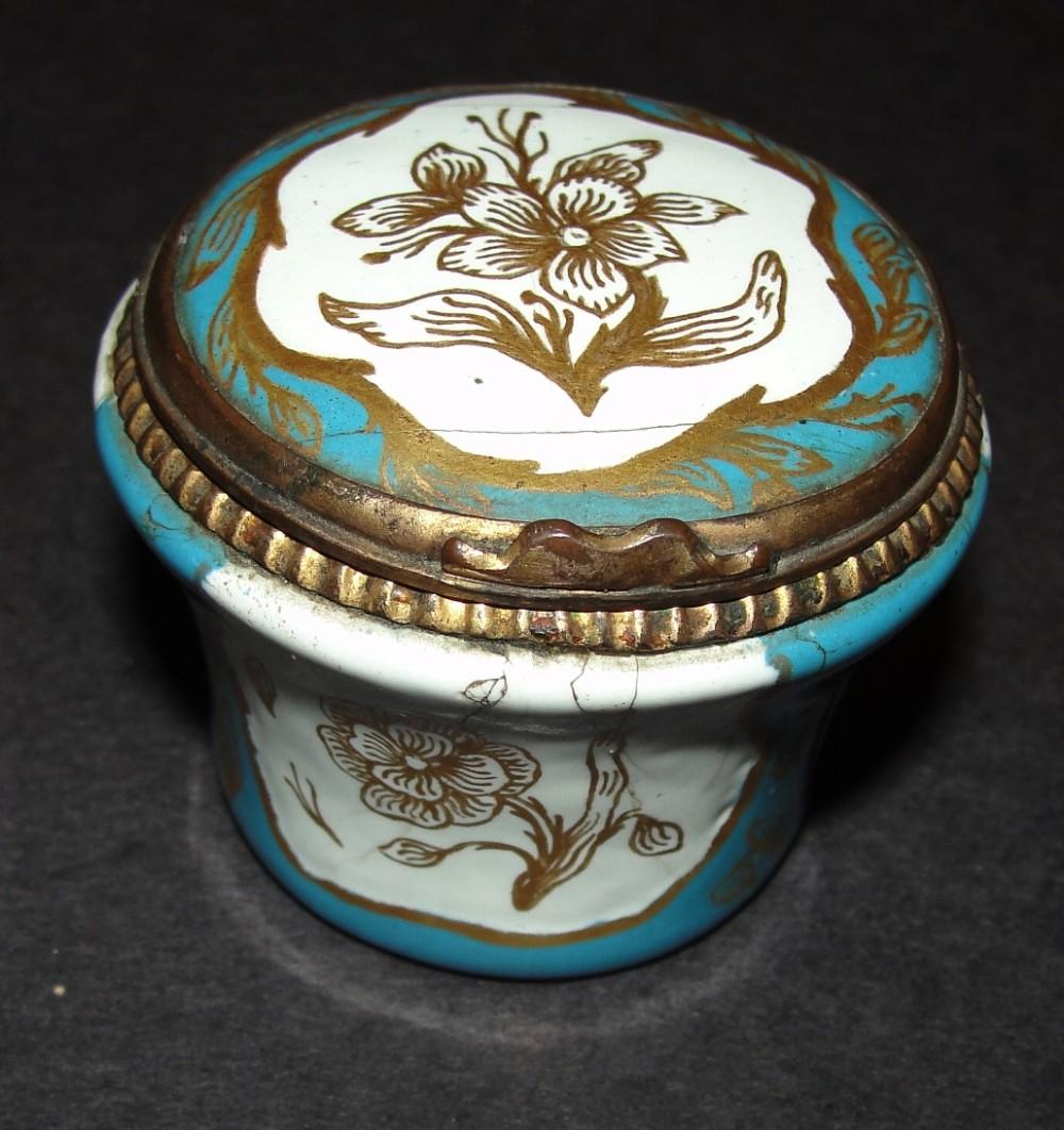 french porcelain patch box circa 1870