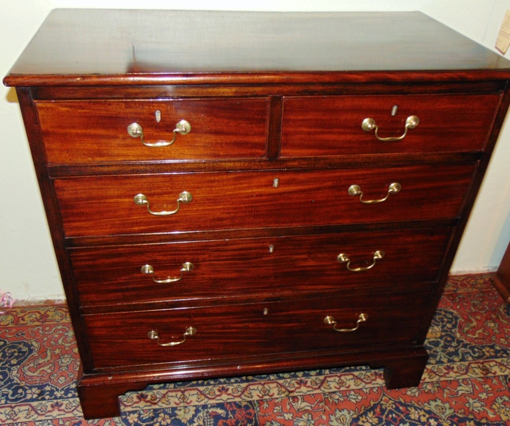 george iii mahogany chest of drawers circa 1770