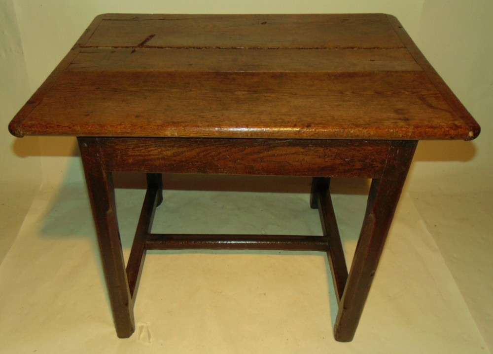georgian oak centre side table circa 1760