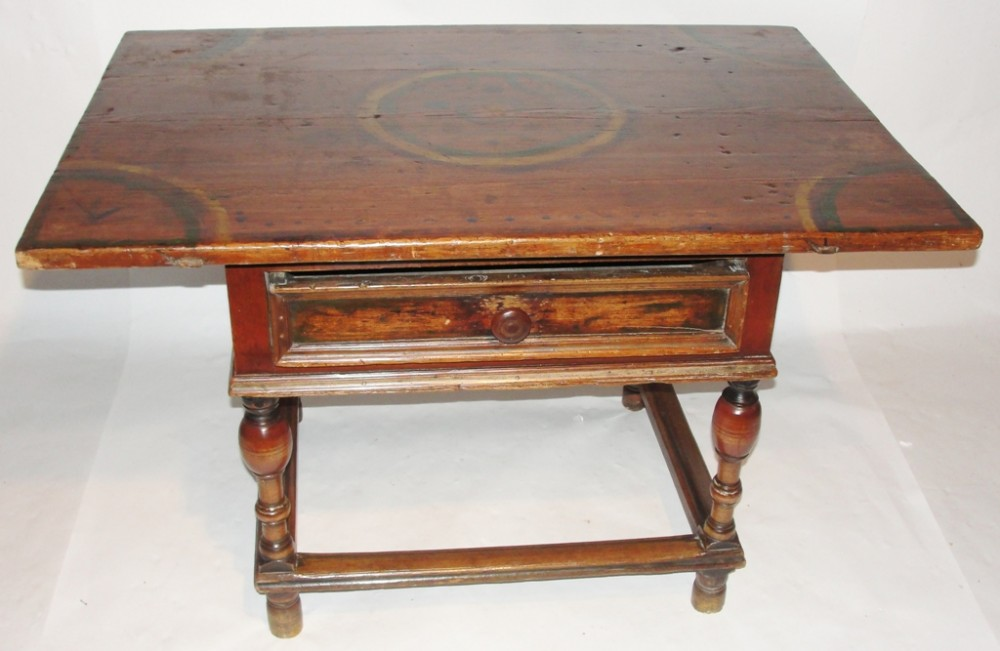 18th century spanish pine side table circa 1780