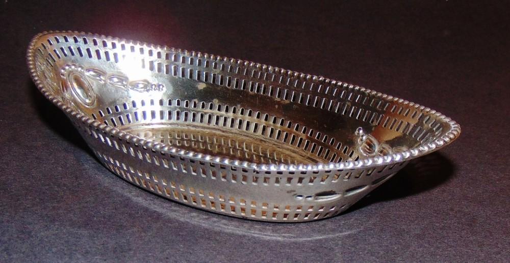 edwardian silver trinket dish 1903