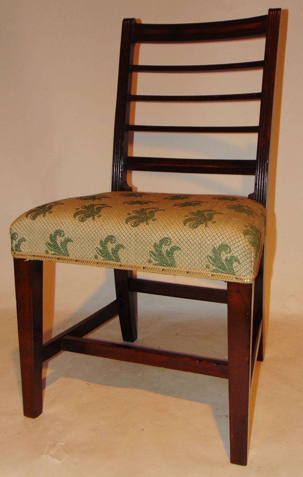 scottish georgian laburnum chair circa 1800