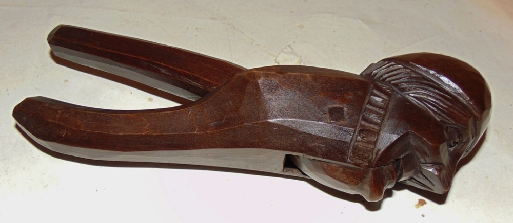 victorian carved limewood nutcracker circa 1870