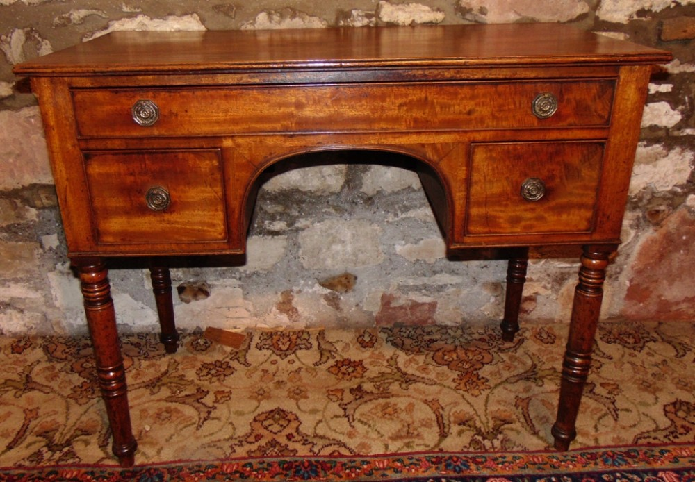 georgian mahogany dressing table circa 1825