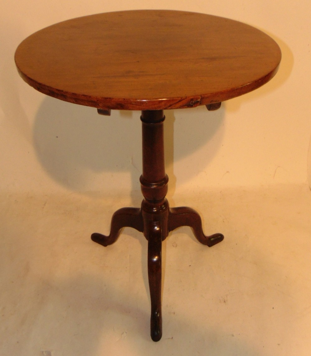 georgian mahogany tripod table circa 1770