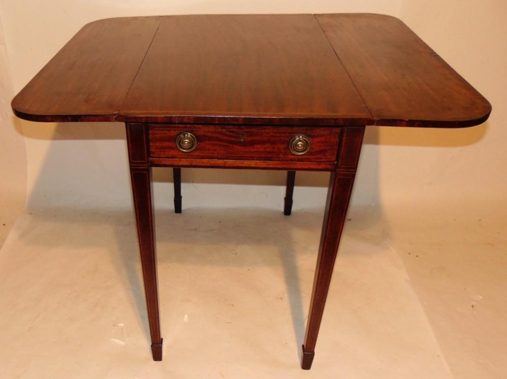 georgian mahogany pembroke table circa 1790