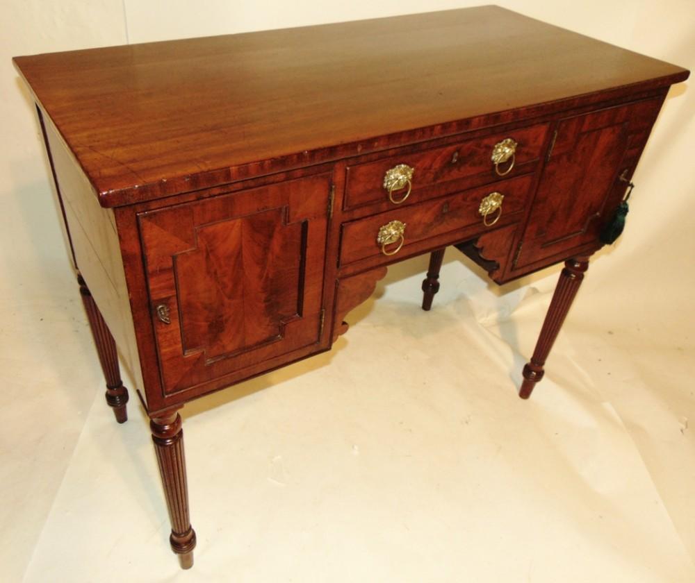 small georgian mahogany sideboard circa 1825